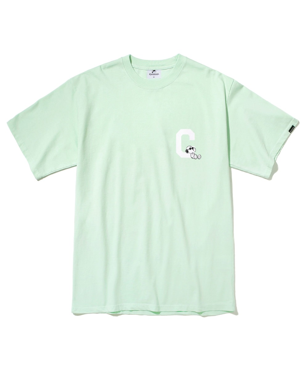 CXPEANUTS 70th C LOGO TEE MINT