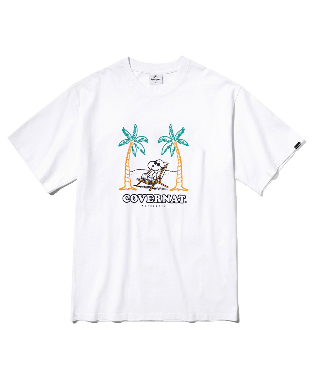 CXPEANUTS 70th YOLO SNOOPY TEE WHITE