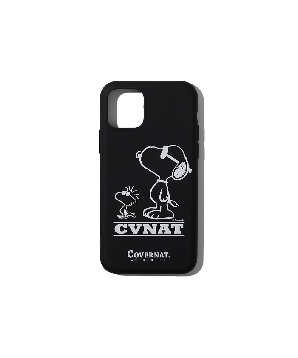 CXPEANUTS 70th FRIENDSHIP PHONE CASE BLACK (iPHONE 11 PRO)